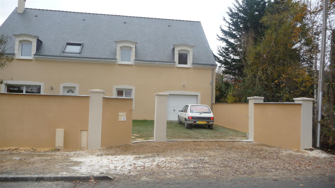 Entr e de maison les r alisations d 39 isolation par l 39 ext rieur sur neuf et ancien ariplex for Peinture exterieure